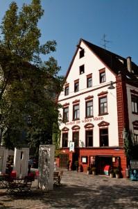 Fischerviertel, Gasthaus Wilder Mann