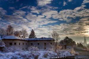 Kienlesbergbastion, Werk X im Winter