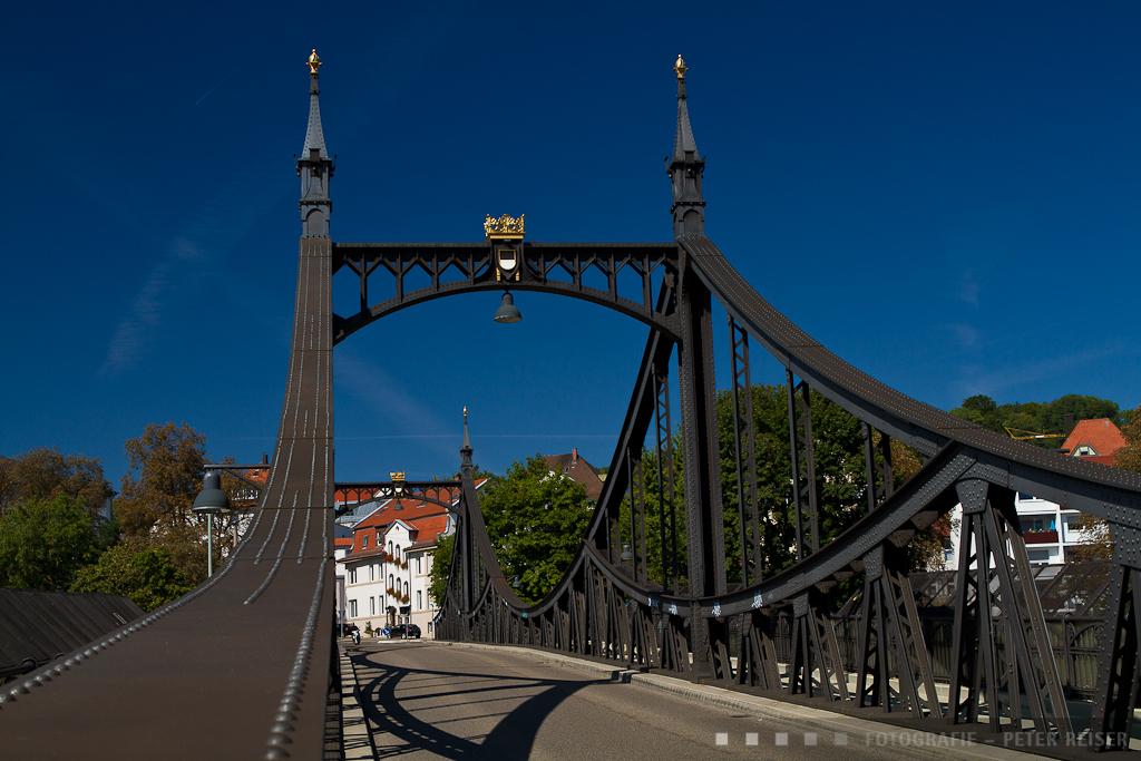 Die Neutorbrücke Richtung Kienlesberg