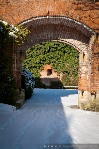 Der Glacis Park im Winter, Carponiere 6