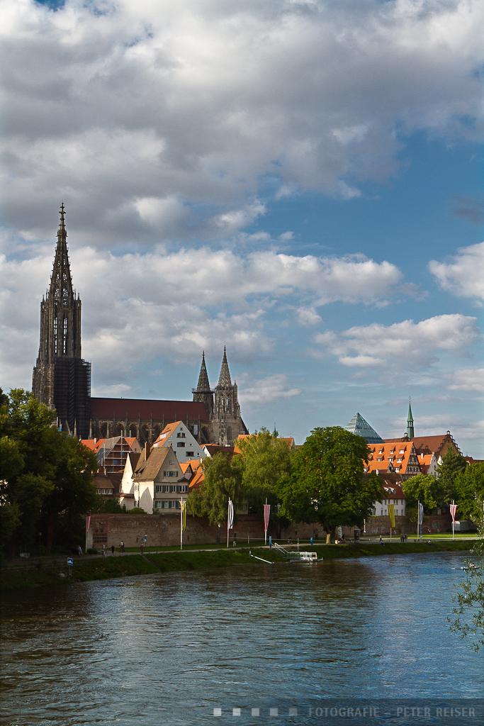 Ansicht Ulm mit Münster