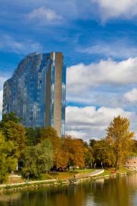 Ulm im Herbst - Hotel Maritim