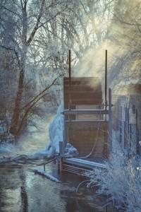 Wasserrad Ulm Clarissenhof