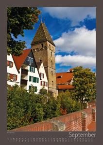 Ulm-Kalender alte Stadtmauer