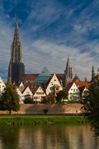 Ansicht Ulm im Sommer HDR - Hoch und Querformat